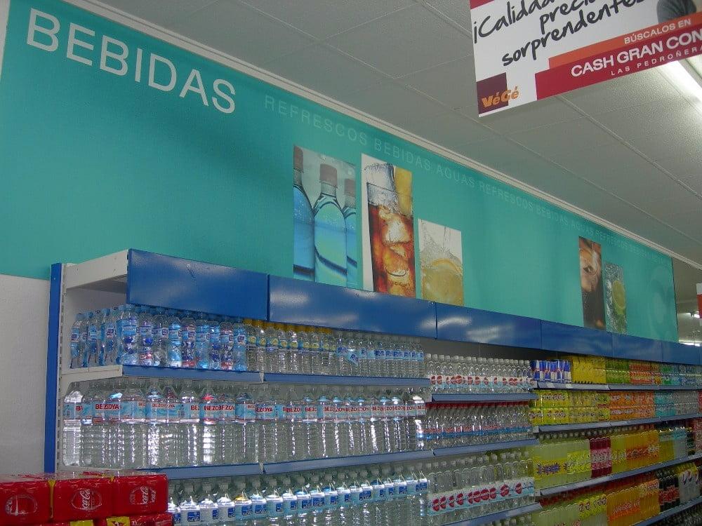 Decoración de supermercados | Vinilos