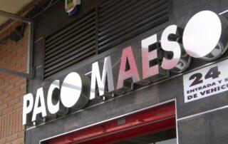 Paco Maeso | Rótulos | Rótulos luminosos en Albacete