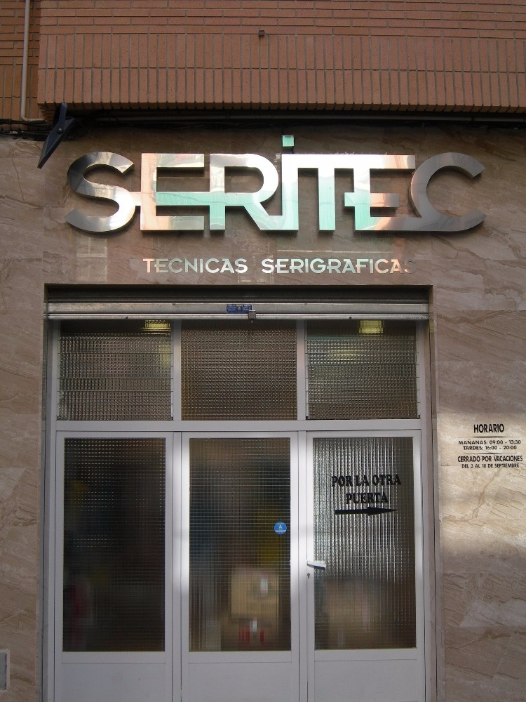 Letras corpóreas en Albacete | Paco Maeso