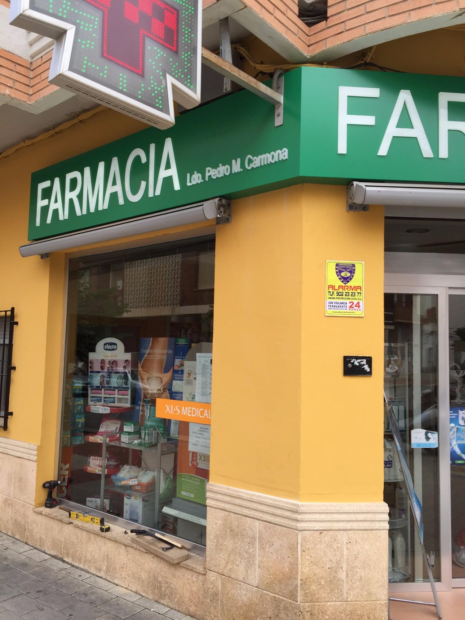 Rótulos luminosos para farmacias en Albacete
