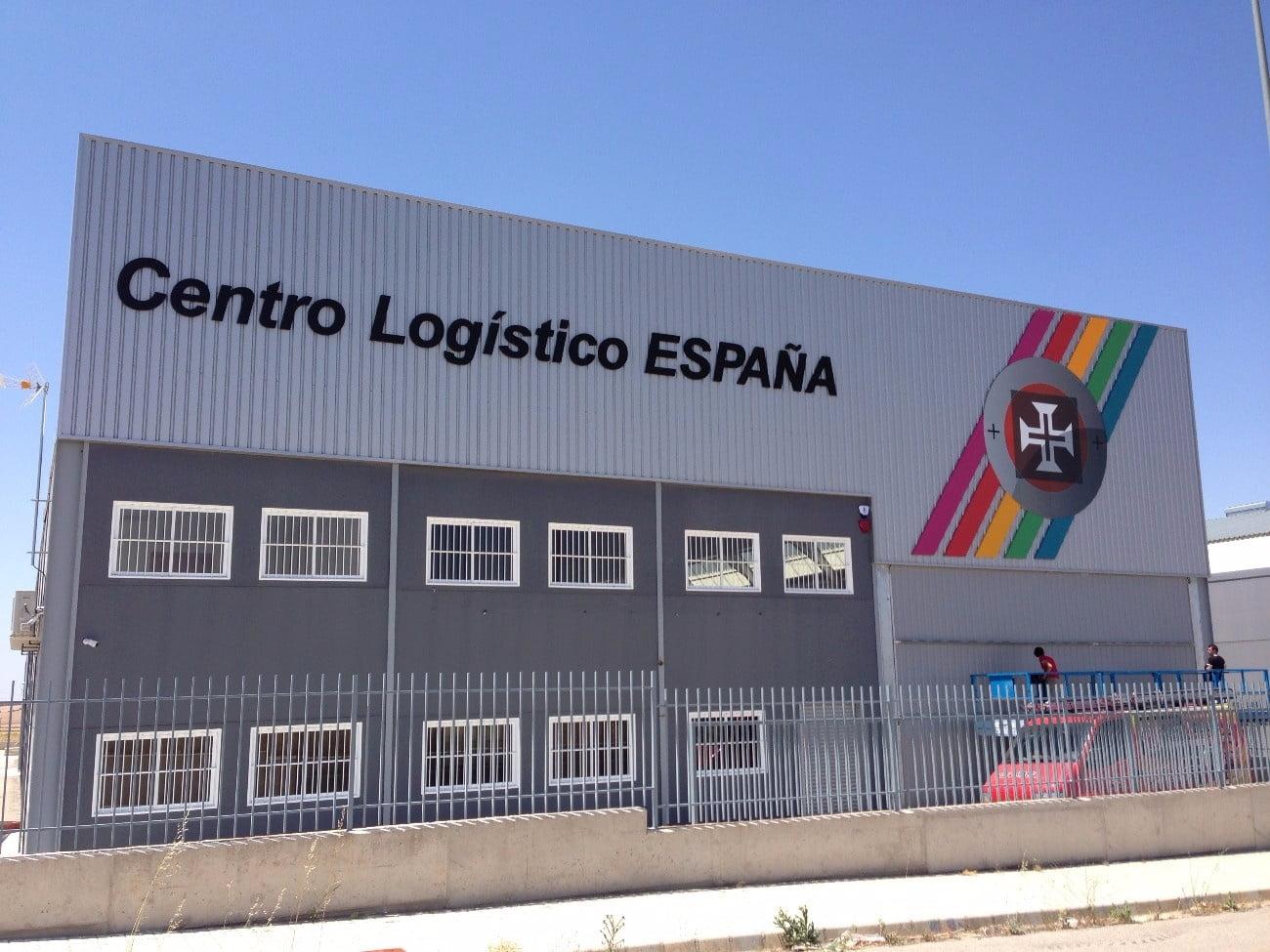 Rótulos para centros logísticos