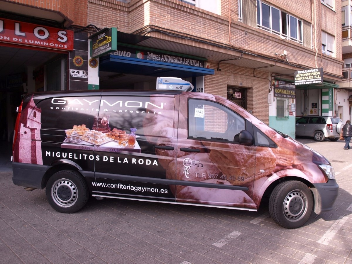 Rotulación de vehículos en Albacete