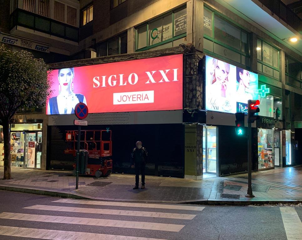Fachadas Siglo XXI Madrid