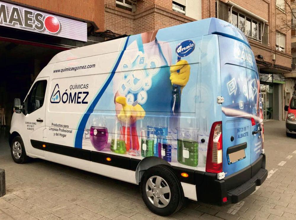 Rotulación vehículos en Albacete