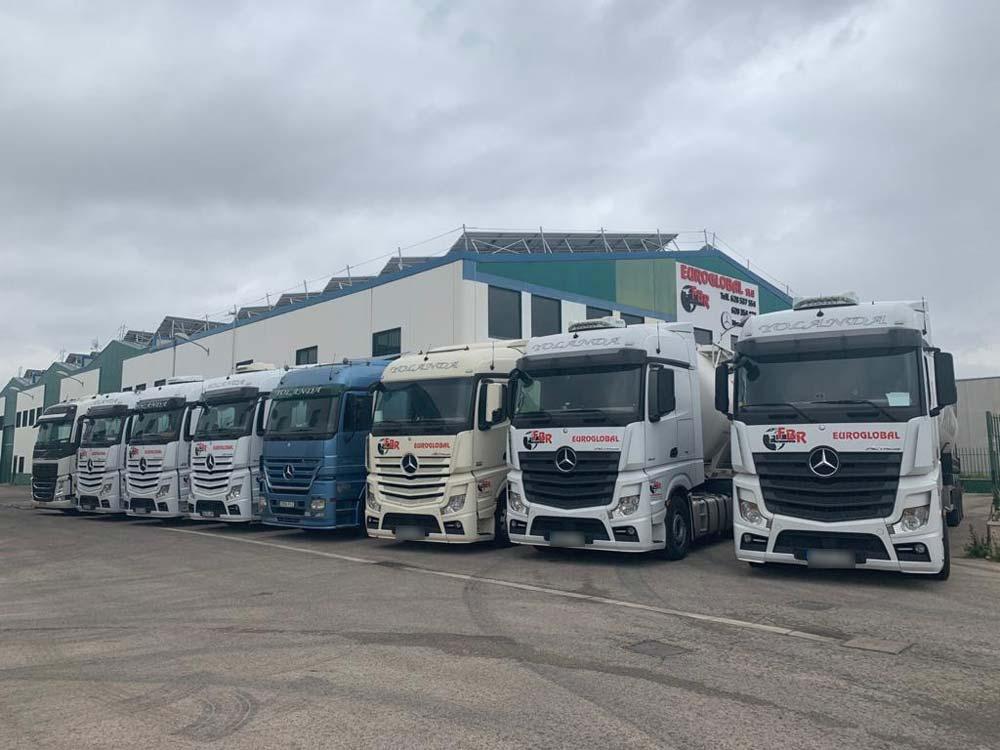 Rótulos para flotas de camiones