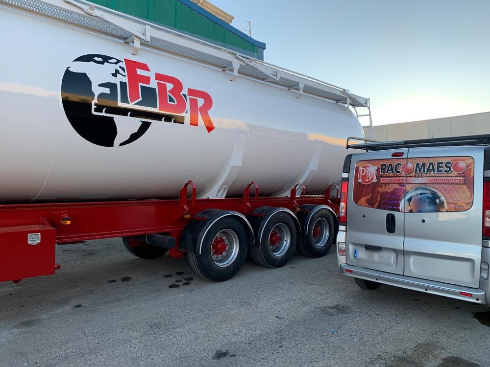 Rotulación de camiones en Albacete   Paco Maeso