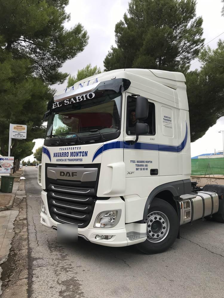Rotulación para camiones