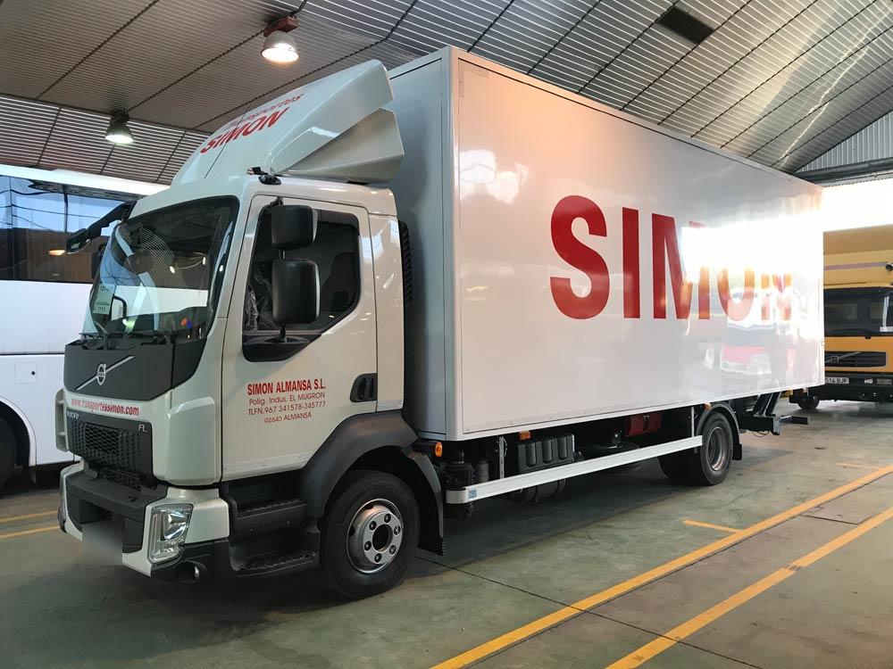 Rótulos para camiones