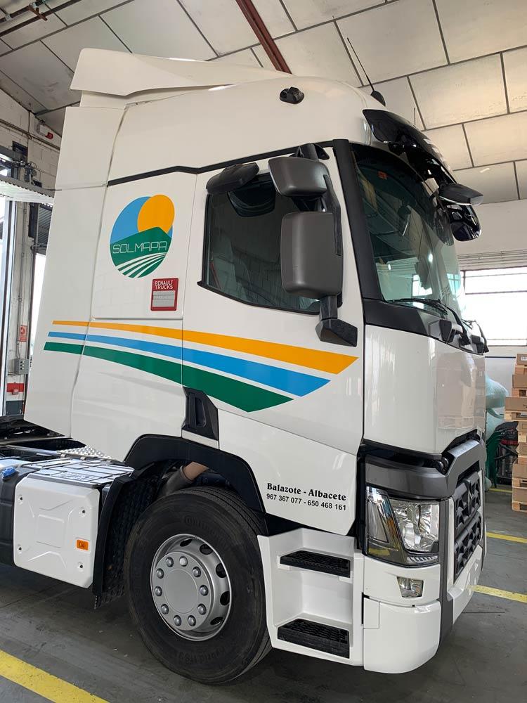 Rótulos para camiones en Albacete