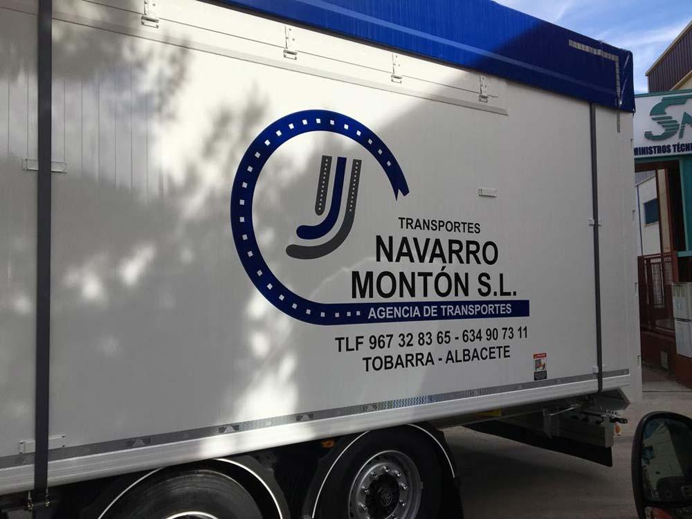 Rotulación de camiones en Albacete